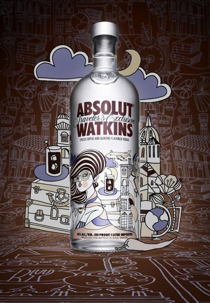 Travel ! absolut - vodka - limited - edition   http://bocadolobo.com/blog/exclusive-absolut-vodka-limited-edition-bottles/