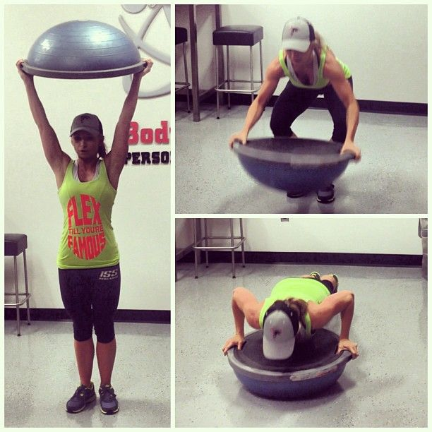 Bosu Ball Burpee Jump: Train Your Entire Body With These 7 BOSU Ball Exercises