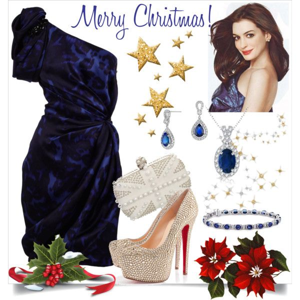 """Christmas Outfit 2"" by veradediamant on Polyvore"