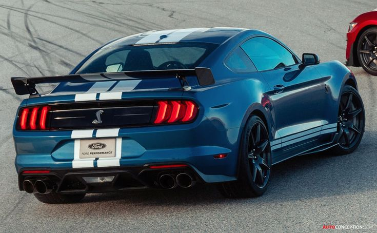 All New Mustang Shelby Gt500 Becomes The Most Powerful Street Legal Ford Ever Autoconception Com Mustang Shelby Shelby Gt500 New Mustang