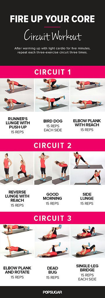 Rock Your Core: Circuit Workout