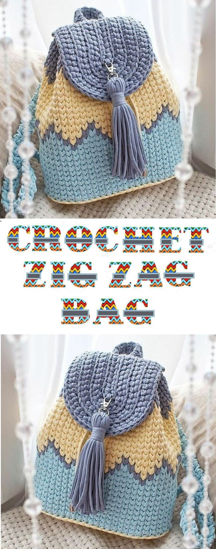 How to crochet a backpack