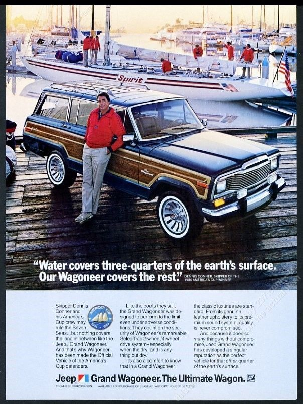 1984 Jeep Grand Wagoneer America S Cup Yacht Dennis Conner Photo