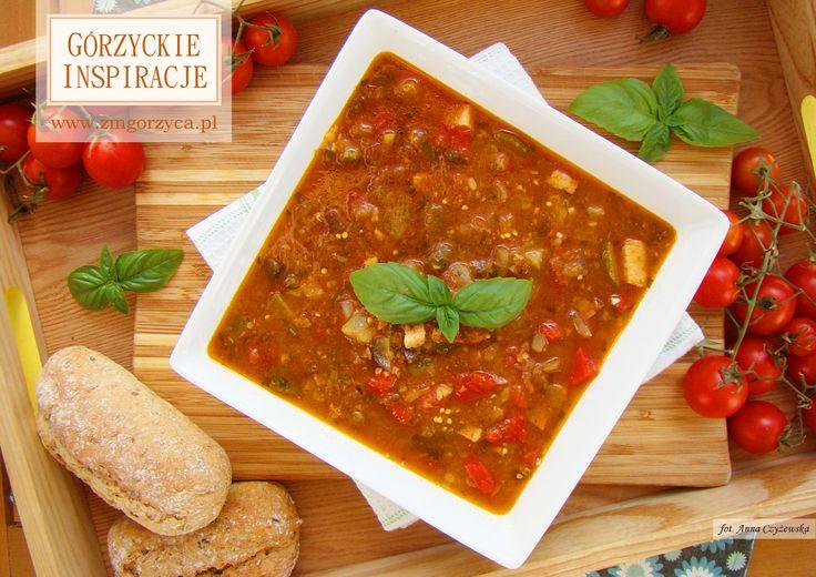 Korzystając z sezonowych, pełnych słońca warzyw zapraszam dziś na zupę ratatouille z boczkiem szlacheckim http://www.zmgorzyca.pl/index.php/pl/kulinarny/zupy/353-zupa-ratatouille-6