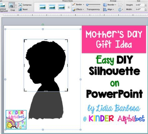 Are you looking for a Quick and Easy Mother's Day gift idea? How about a silhouette WITHOUT the projector? I wish that I would have figured this one out years ago! Using the projector is very…