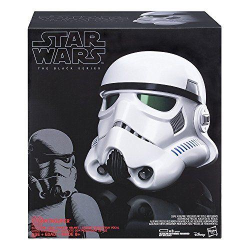 casque stormtrooper black serie
