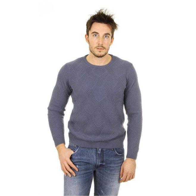 Giorgio Armani mens cashmere sweater round neck SSM43M SS53M 625 D205-3162-9173-8055352267641