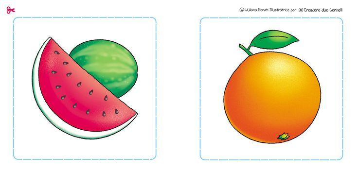 Il memory della frutta e della verdura! Free download sul blog