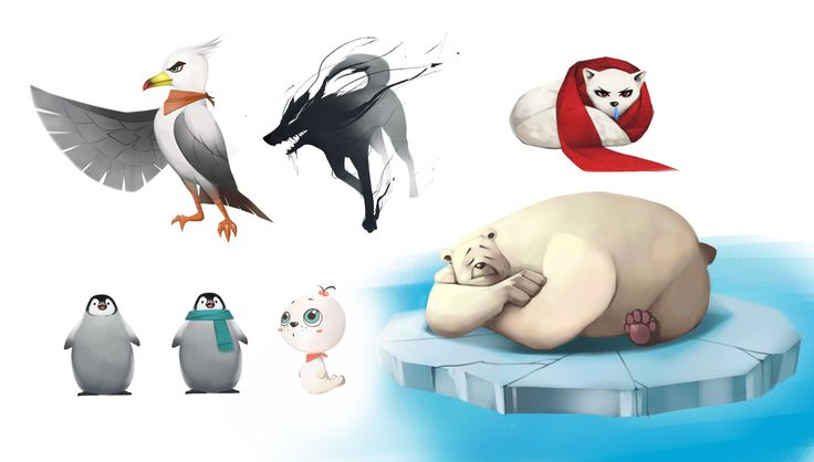 Characters of 'Arctic Episode'