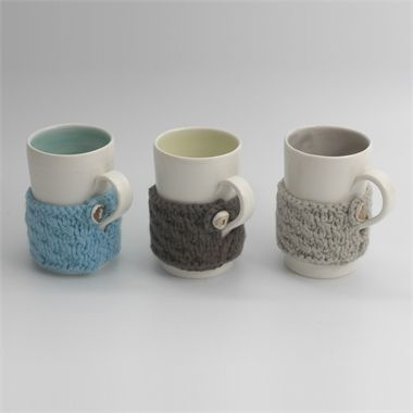 Cosy mug by Linda Bloomfield Available at seekandadore.com