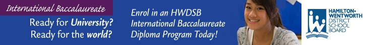 International Baccalaureate and other high school programs in Hamilton area