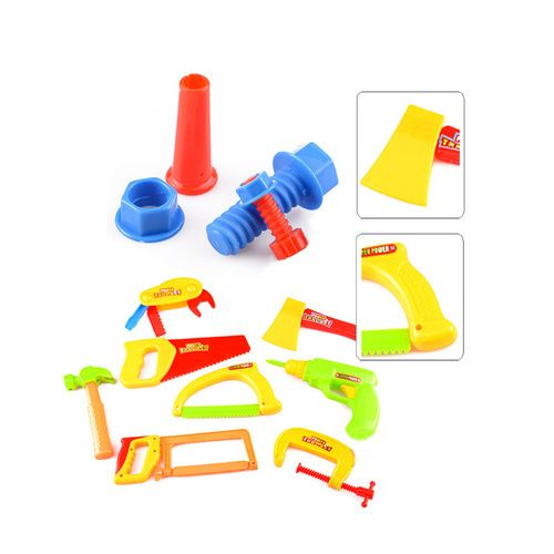 34PCS Construction Toys for Kids, Plastic Kids Tools and Toys