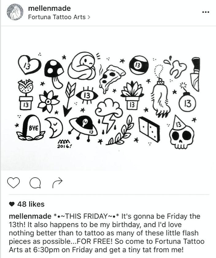 Friday the 13th tattoo ideas