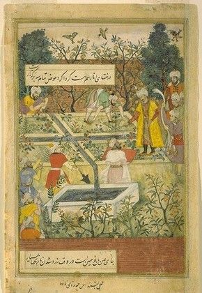 1000 images about na ve art and illustrations on Mughal garden booking