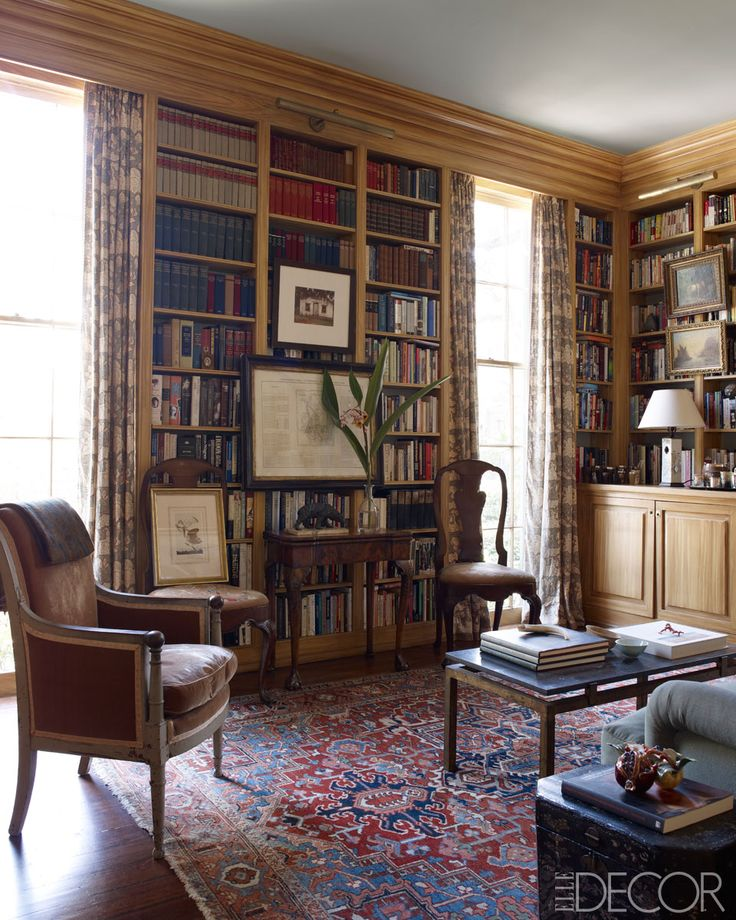 I think I just soiled me interiors.    Greek Revival Interiors - Julia Reed's New Orleans House - ELLE DECOR