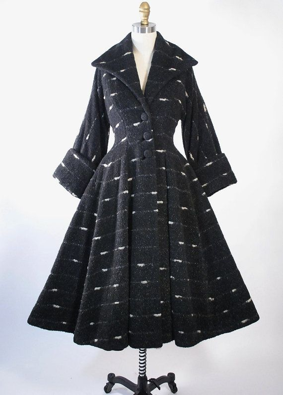 RESERVED Vintage 50s LILLI ANN Princess Coat by GeronimoVintage