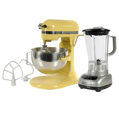 The KitchenAid® Deluxe 5 Stand Mixer is a versatile culinary powerhouse. Featuring a 450-watt motor, sturdy all-metal construction, and bowl-lift design, this mixer is a must-have for experienced bakers and culinary newbies alike. #ilovetoshop