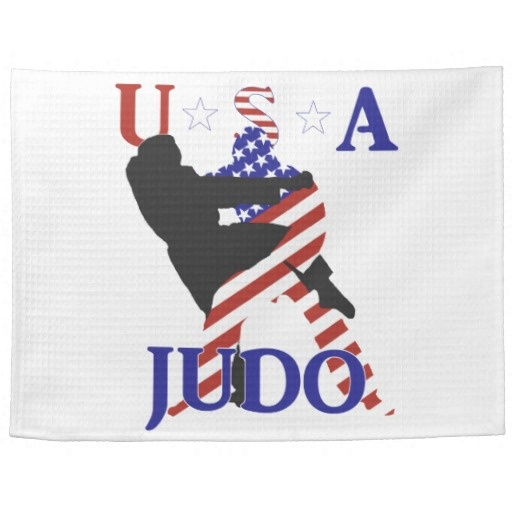 SOLD ! USA Judo Towels by redwhiteandblue1 shipping to San Jose, CA
