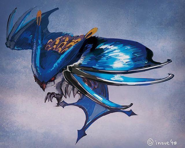 Hororo Horuru, from Monster Hunter [Drawn by いねうえ]