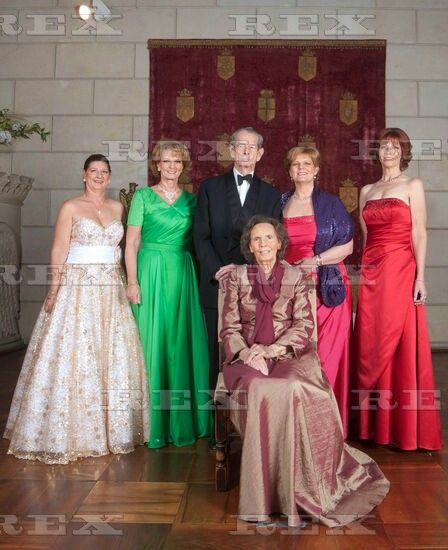 King Michael of Romania 90th Birthday Celebrations, Bucharest, Romania - 26 Oct…