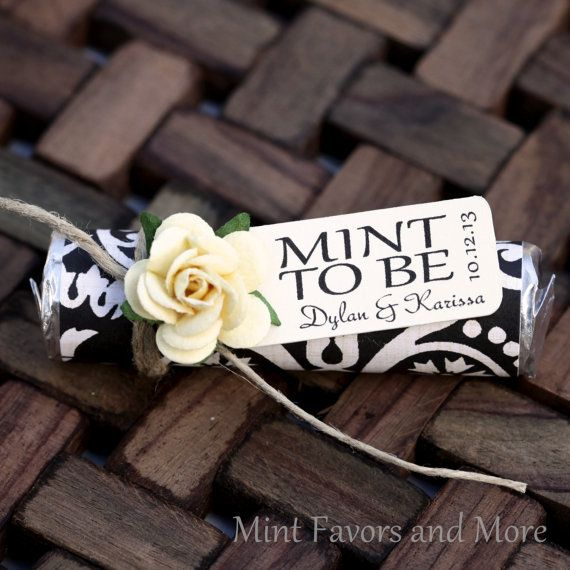 Hey, I found this really awesome Etsy listing at http://www.etsy.com/listing/164463764/mint-wedding-favor-with-personalized