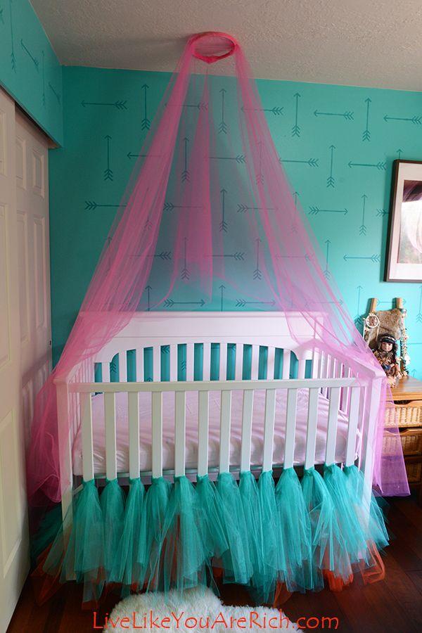 Best 25 Tulle Crib Skirts Ideas On Pinterest Crib