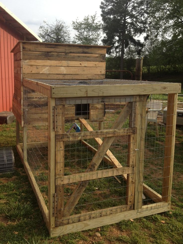 25 best ideas about chicken coop pallets on pinterest for Pallet chicken coup
