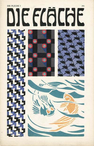 Die Fläche  1903/4. Published by Felician Baron Myrbach, Josef Hoffmann, Koloman Moser and Alfred Roller.