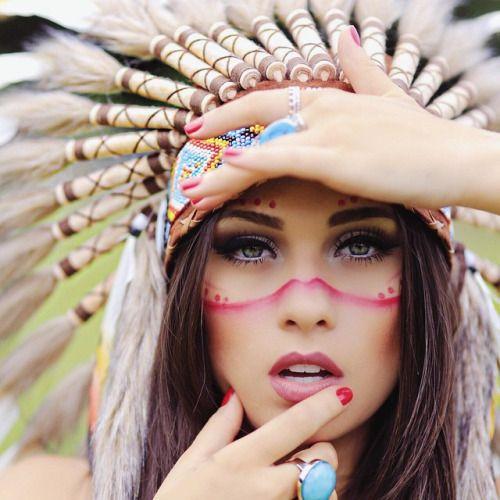 die besten 25 squaw kost m ideen auf pinterest indianer squaw kost m schminken indianer. Black Bedroom Furniture Sets. Home Design Ideas