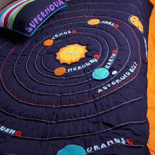 Solar system quilt t 39 s room pinterest quilt solar for Solar system quilt pattern