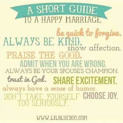 Tips to a happy marriage one day family pinterest