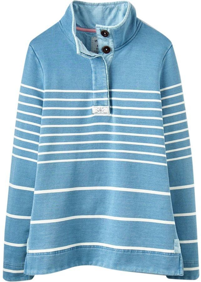 Joules Cowdray Salt Funnel Neck Sweatshirt