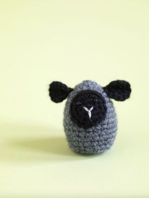 Amigurumi Little Lamb Egg Cozy, freebie from Lion, thanks so. Adore this one! xox