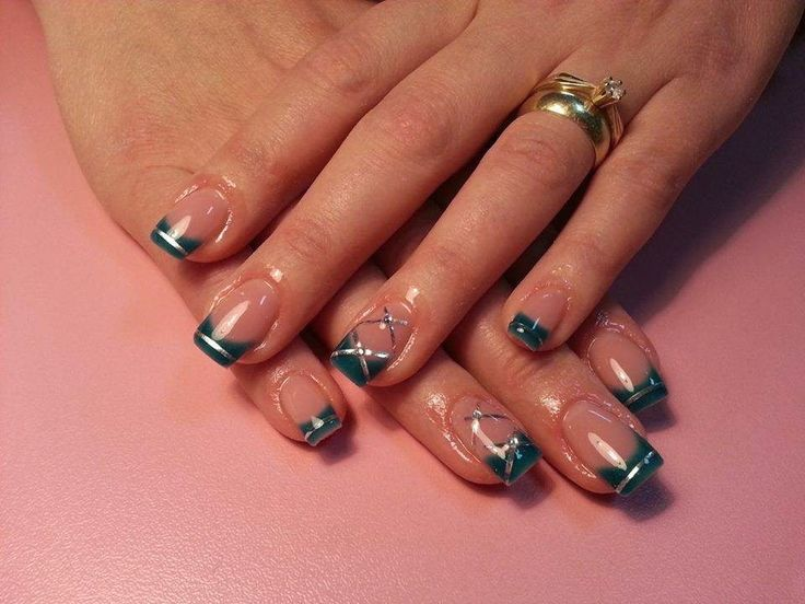 1000 Images About Nail Art Style French American On