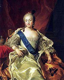 Élisabeth Ire la Clémente, portrait de Van Loo.