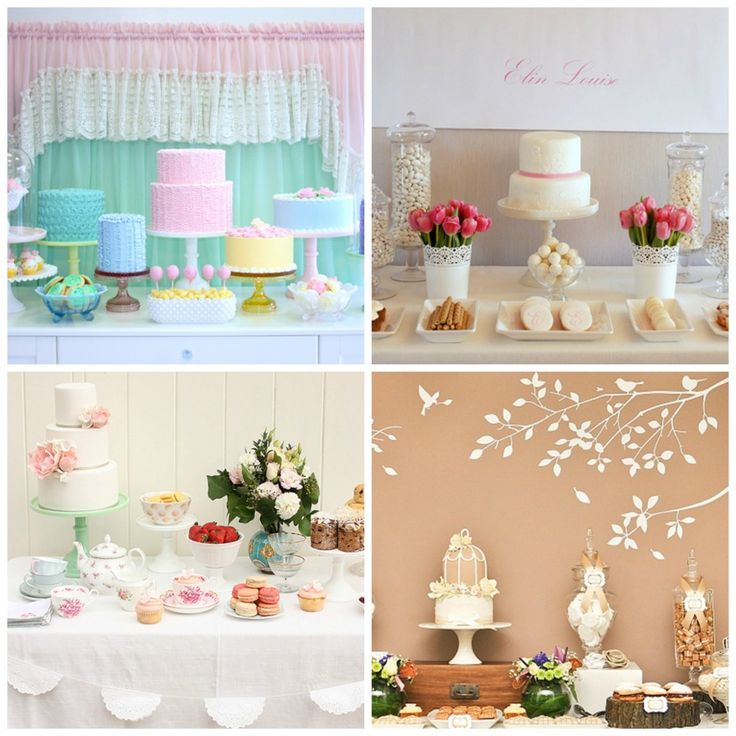 Sweet Tables para Eventos Especiales I