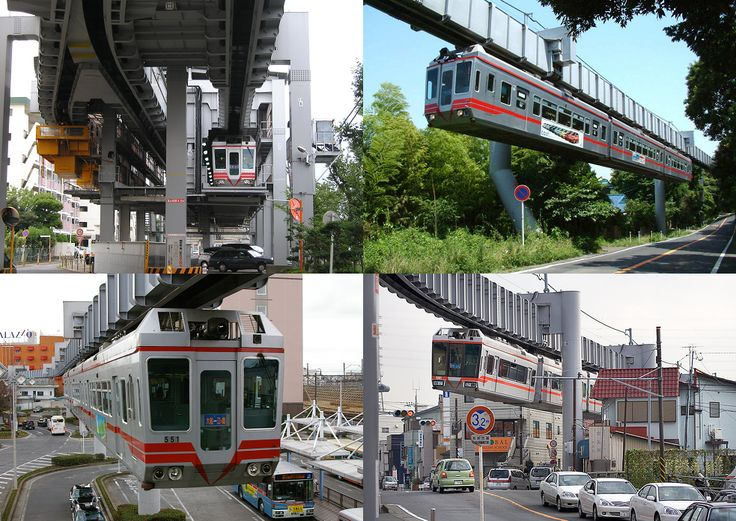#Shonan #Monorail is a suspended SAFEGE monorail in the cities of #Kamakura and #Fujisawa in #Kanagawa Prefecture, #Japan.