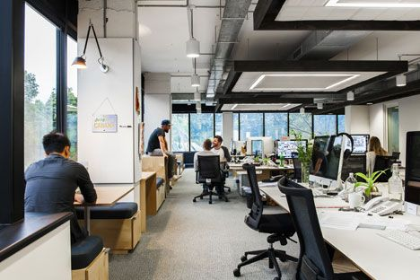 Movie: Sydney office combines New York loft with Scandinavian design