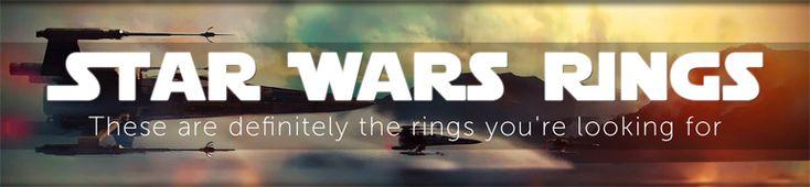 70% off Star Wars Rings! CODE: R2D2