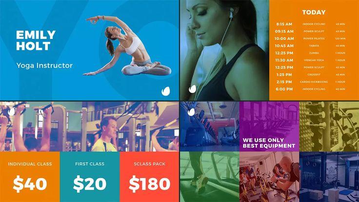Fitness Display Pack on Vimeo