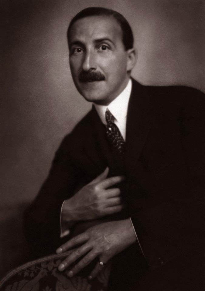 Stefan Zweig (Vienne 1881, Petropolis 1942) (Autriche) Ecrivain
