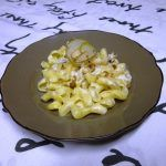 Maccheroni Gorgonzola e pere