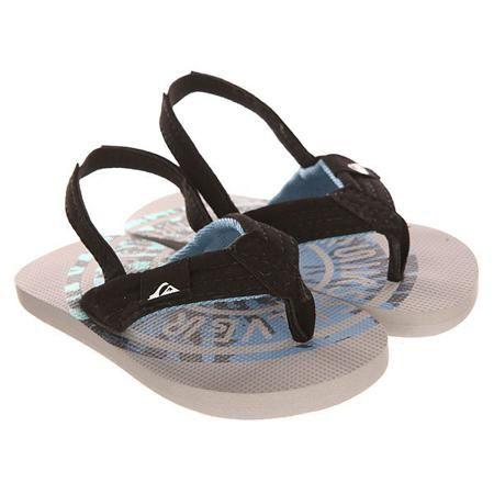 Сандалии детские Quiksilver Molokai Layb-td T Sndl Grey/Blue  — 839р.  Удобные сандалии для маленьких городских путешественников.Характеристики:Мягкие удобные лямки. Эластичная пяточная лямка.Прочная подошва из мягкого пористого каучука.