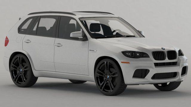 BMW X5 2011 3D Model .max .c4d .obj .3ds .fbx .lwo .stl @3DExport.com by renderua