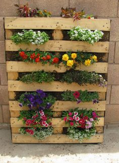 best 25 wood pallet planters ideas on pinterest pallet garden projects pallet gardening and pallet planters