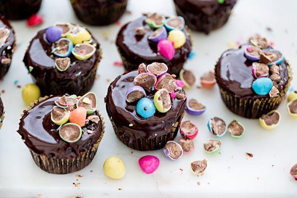 Wielkanocne babeczki czekoladowe