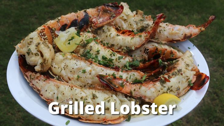 how to cook lobster tails on the grill at home