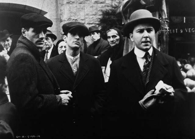 """Salvatore Tessio, Vito Corleone y Peter Clemenza """"El Padrino ll"""""""