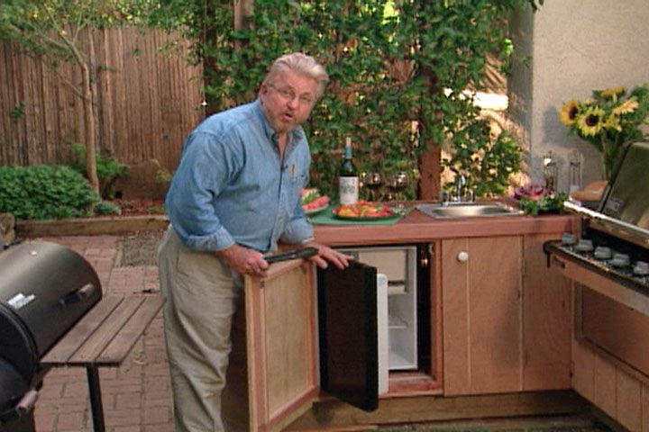 Watch How To Install An Outdoor Kitchen In Your Backyard