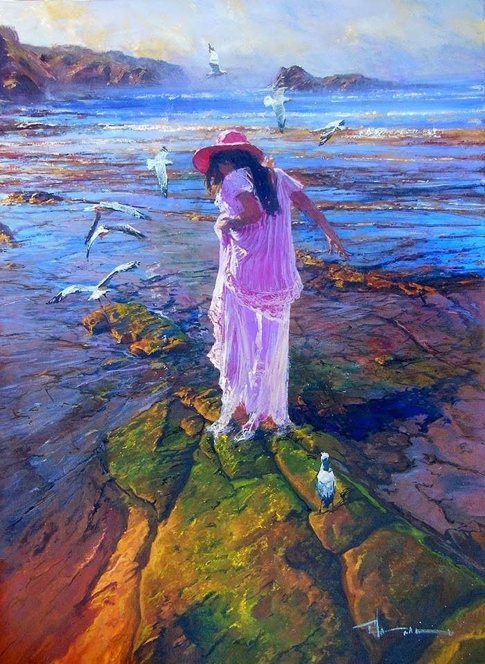 Австралийский художник. Robert Hagan